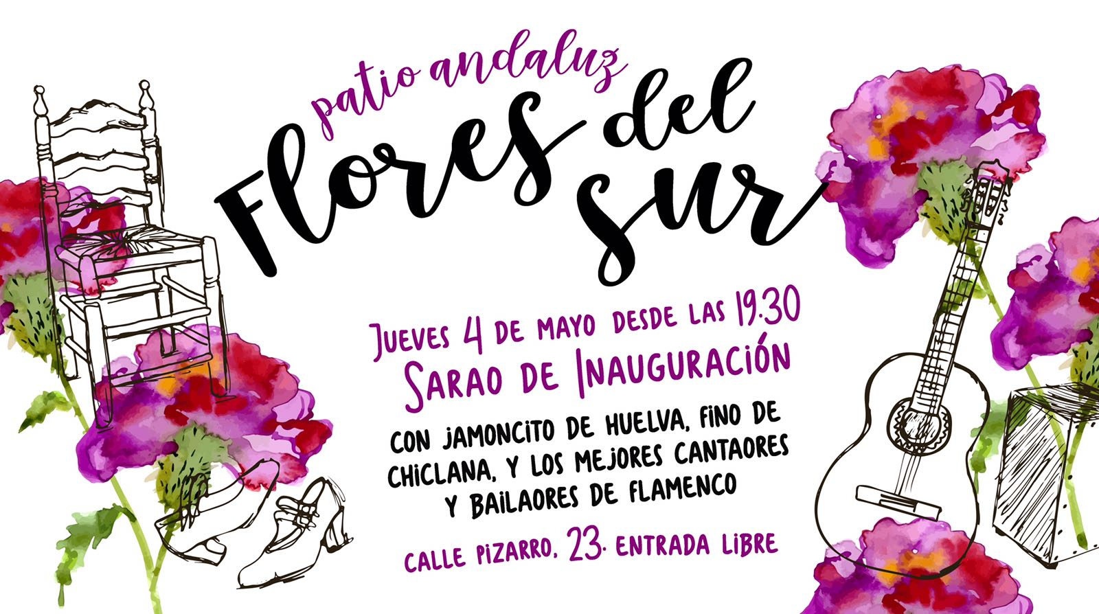 Valencia Flores del Sur, iniziativa gastronomica di ispirazione andalusa